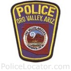 Oro Valley Police Department Patch