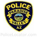 Paradise Valley Police Department Patch