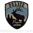 Payson Police Department Patch