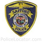 Safford Police Department Patch