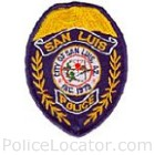 San Luis Police Department Patch