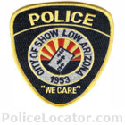 Show Low Police Department Patch