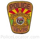 Springerville Police Department Patch