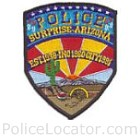 Surprise Police Department Patch