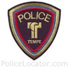 Tempe Police Department Patch