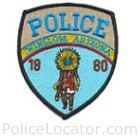 Winslow Police Department Patch