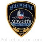 Acworth Police Department Patch