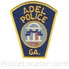 Adel Police Department Patch