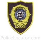 Americus Police Department Patch