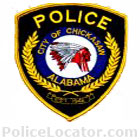 Chickasaw Police Department Patch