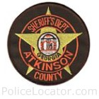 Atkinson County Sheriff's Office Patch
