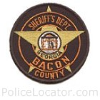 Bacon County Sheriff's Office Patch