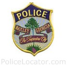 Baxley Police Department Patch