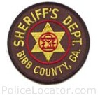 Bibb County Sheriff's Office Patch