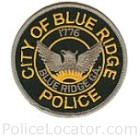 Blue Ridge City Police Department Patch