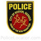 Boston Police Department Patch
