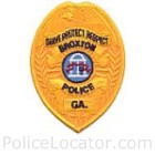 Broxton Police Department Patch
