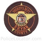 Bryan County Sheriff's Office Patch