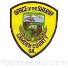 Camden County Sheriff's Office Patch
