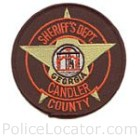 Candler County Sheriff's Office Patch