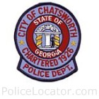 Chatsworth Police Department Patch