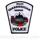 Clarkesville Police Department Patch