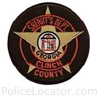 Clinch County Sheriff's Office Patch