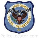Cobb County Police Department Patch
