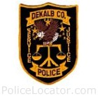 DeKalb County Police Department Patch