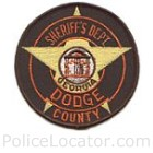 Dodge County Sheriff's Office Patch