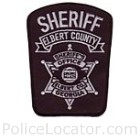 Elbert County Sheriff's Office Patch