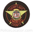 Emanuel County Sheriff's Office Patch