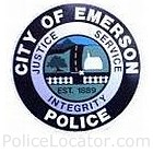 Emerson Police Department Patch