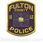 Fulton County Police Department Patch