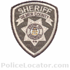 Gilmer County Sheriff's Office Patch