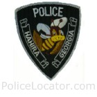 Hahira Police Department Patch