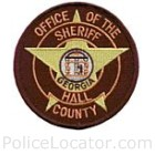 Hall County Sheriff's Office Patch