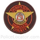 Hancock County Sheriff's Office Patch