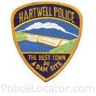 Hartwell Police Department Patch