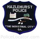 Hazlehurst Police Department Patch