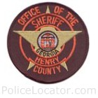 Henry County Sheriff's Office Patch