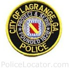 LaGrange Police Department Patch