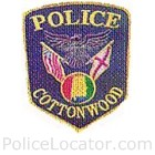 Cottonwood Police Department Patch