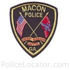 Macon Police Department Patch