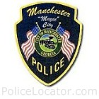 Manchester Police Department Patch