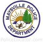 Maysville Police Department Patch