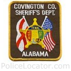 Covington County Sheriff's Department Patch