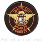 McDuffie County Sheriff's Department Patch
