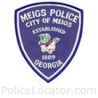 Meigs Police Department Patch