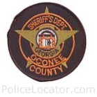 Oconee County Sheriff's Office Patch